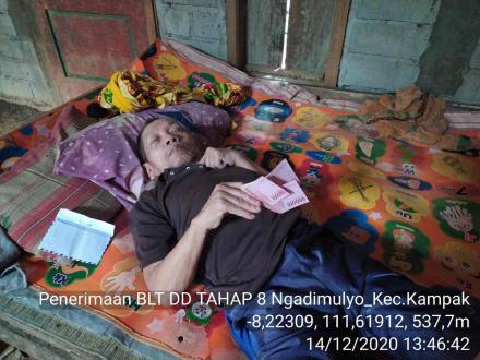 BLT DD TAHAP 8 ALOKASI BULAN NOVEMBER DESA NGADIMULYO